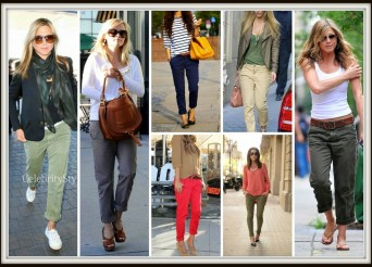 CHINOS CELEB COLLAGE