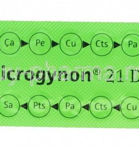30818-Microgynon-Levonorgestrel-Ethinylestradiol-0-15mg-0-03mg-Blister-Pack